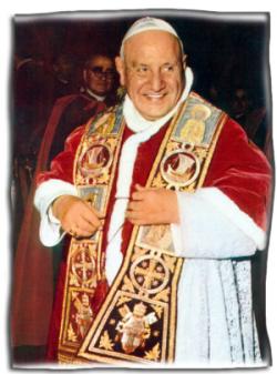 paus heilig gesproken